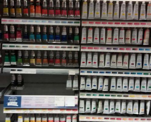 Winsor Newton oil colours