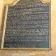 Joseph Bosworth Plaque Restored