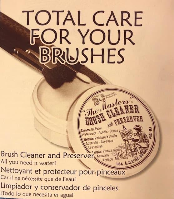 Masters brush cleaner