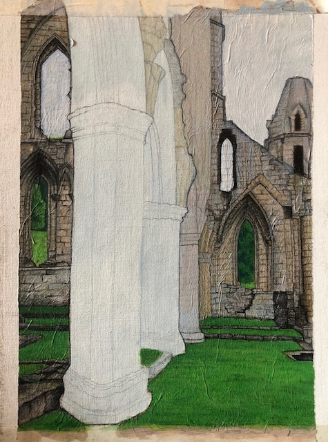Unfinished Rievaulx Abbey picture