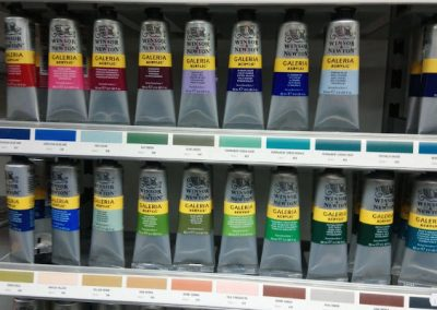 Windsor and Newton student quality galleria acrylic colours