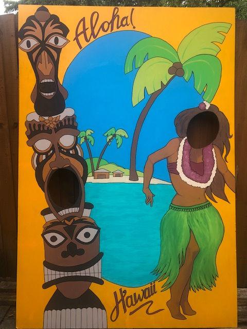 Acrylic Hawaii
