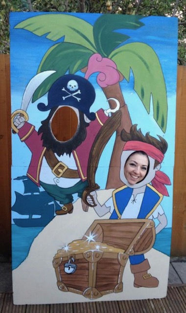 Acrylic pirates