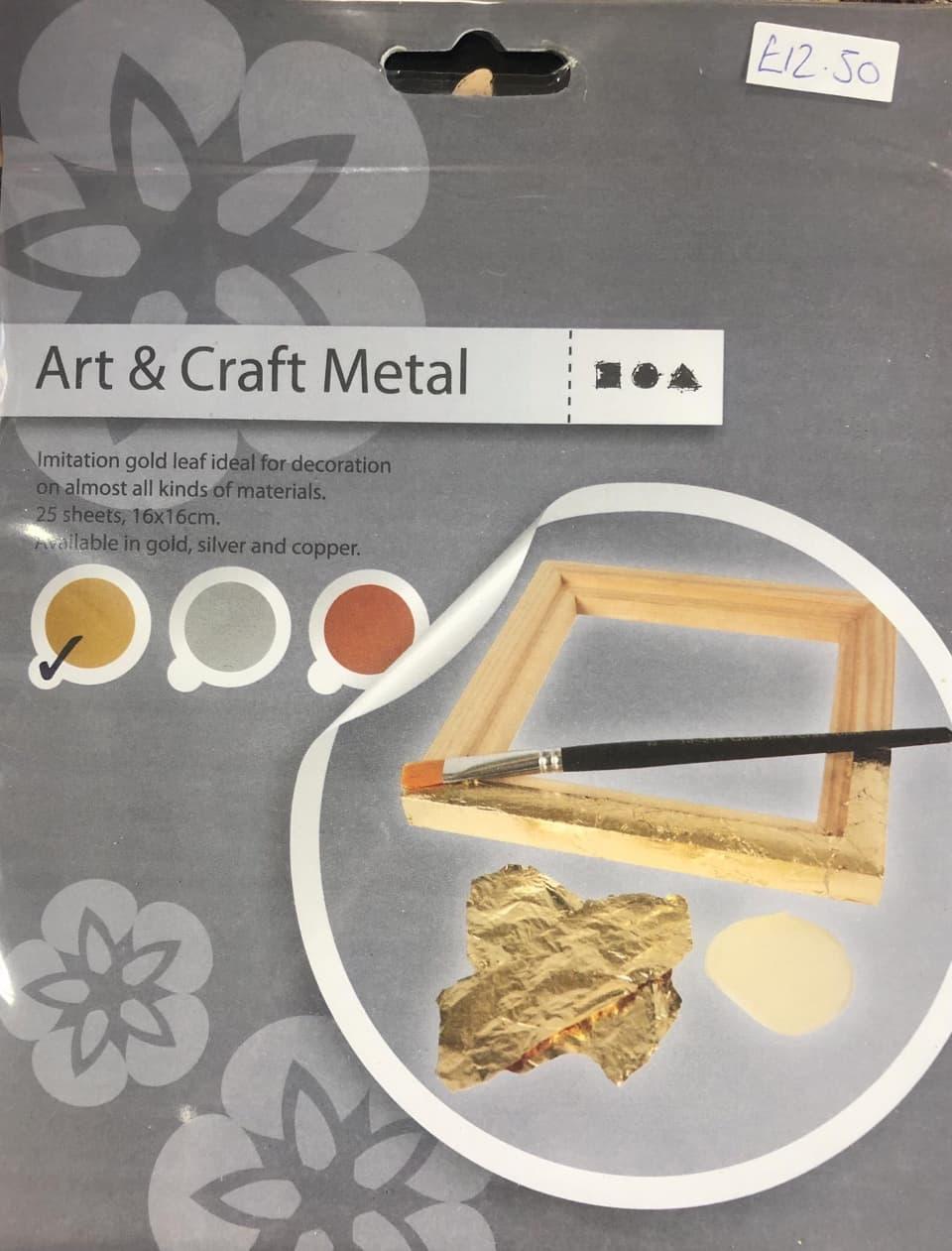 art and craft metal