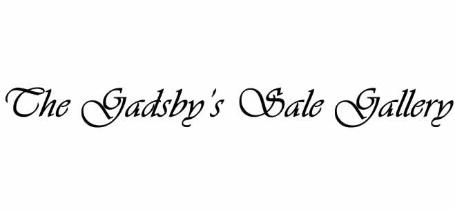 Gadsby's Sale Gallery