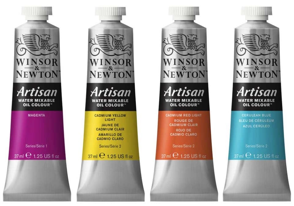 Artisan Oils from Winsor &