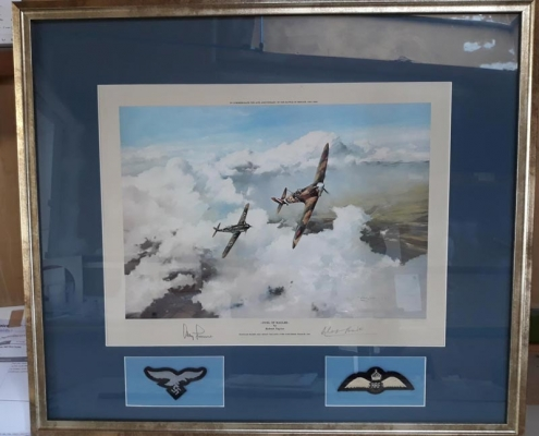 battle of britain framed picture