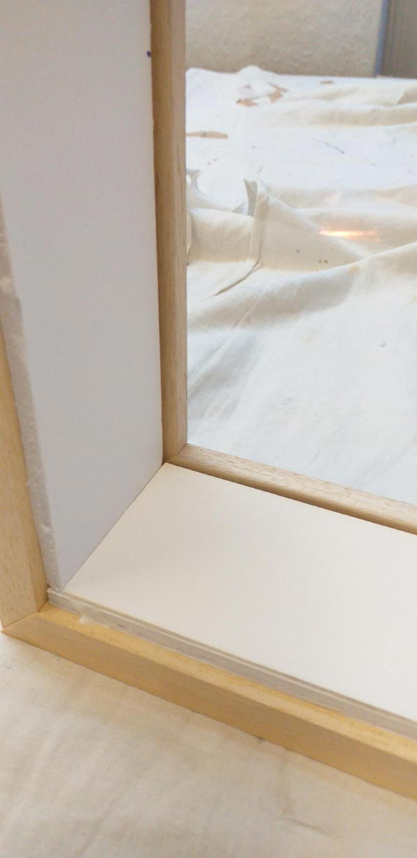 building the box frame