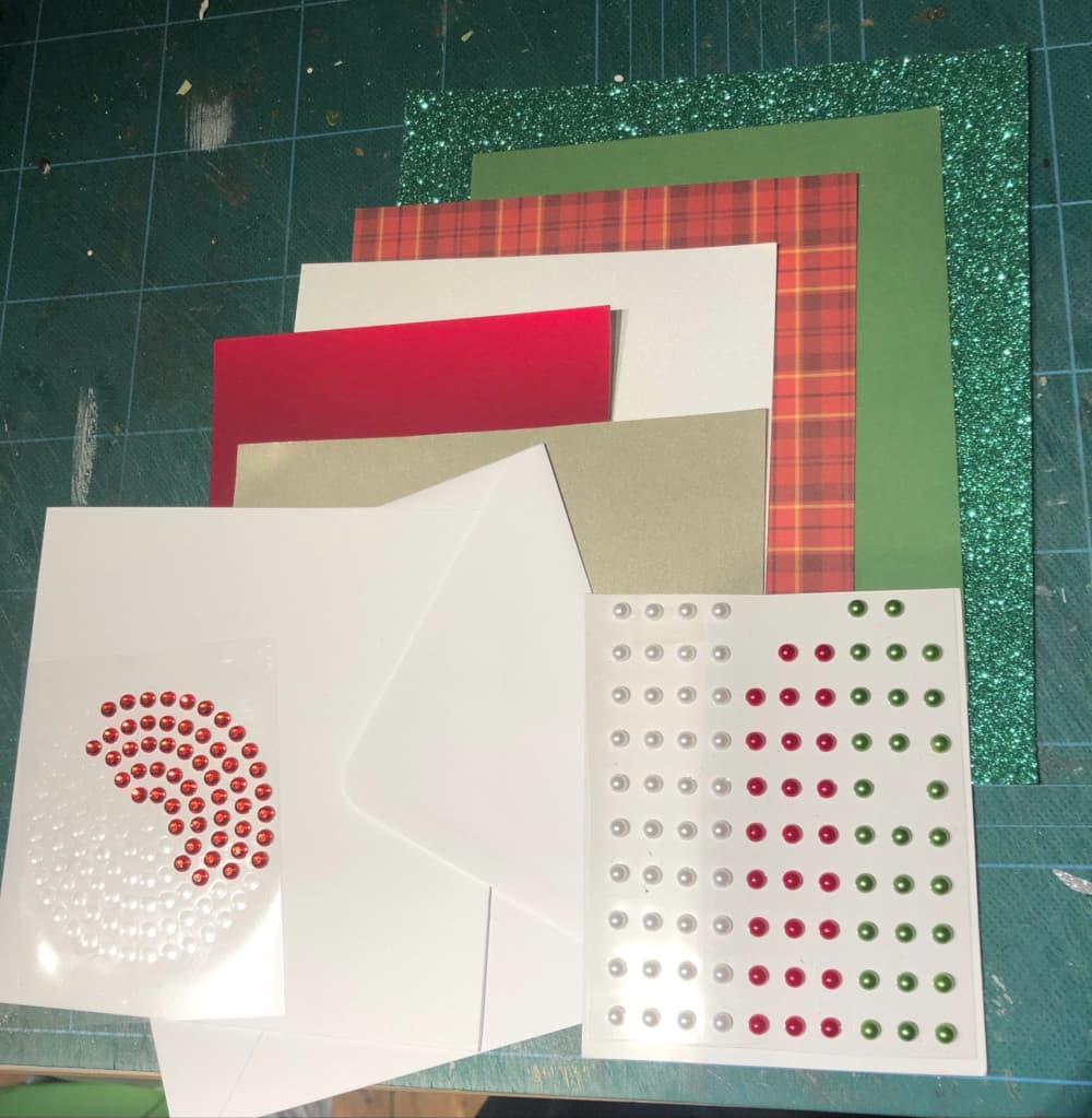 card stock used