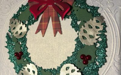 Making a Christmas card – part 2
