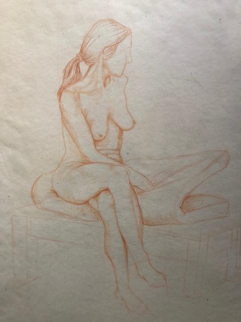 coloured pencil sketch 2