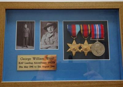 commemorating a serviceman