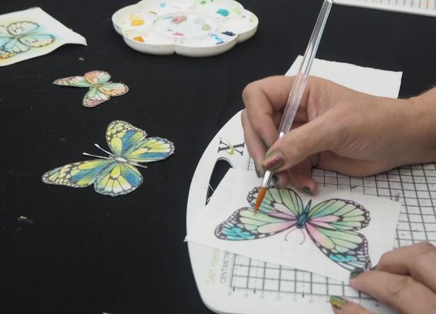 crafting at ally pally