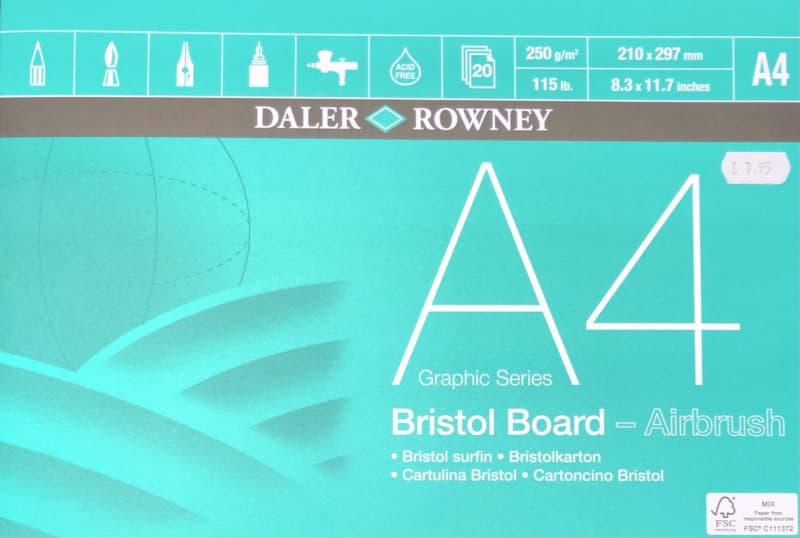 daler rowney bristol board