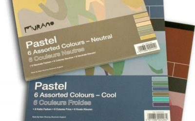 Paper for pastels and chalk drawing