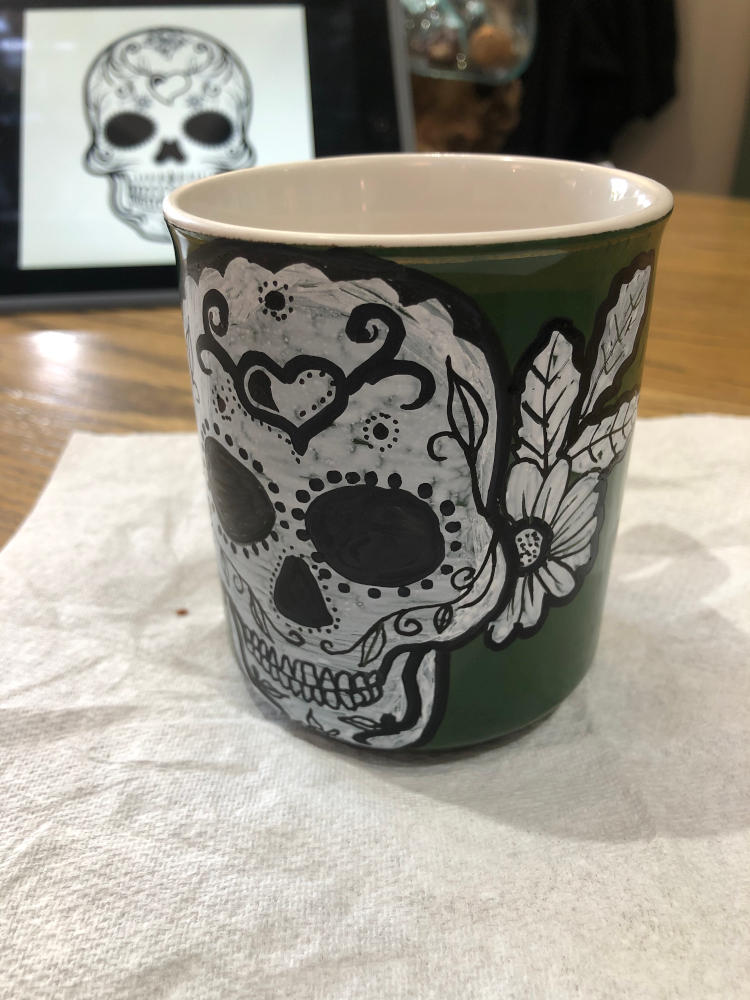 Finished mug
