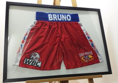 framed boxing shorts