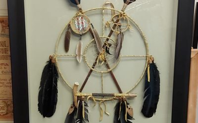 Framing a Dream Catcher!