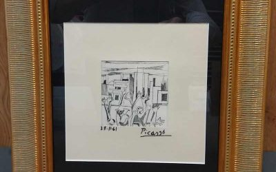 Framing Picasso's Drawings & Paintings?