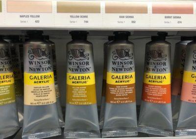 galeria acrylic paints