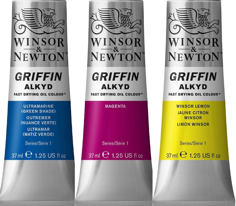 Griffin Alkyd fast drying oil colours
