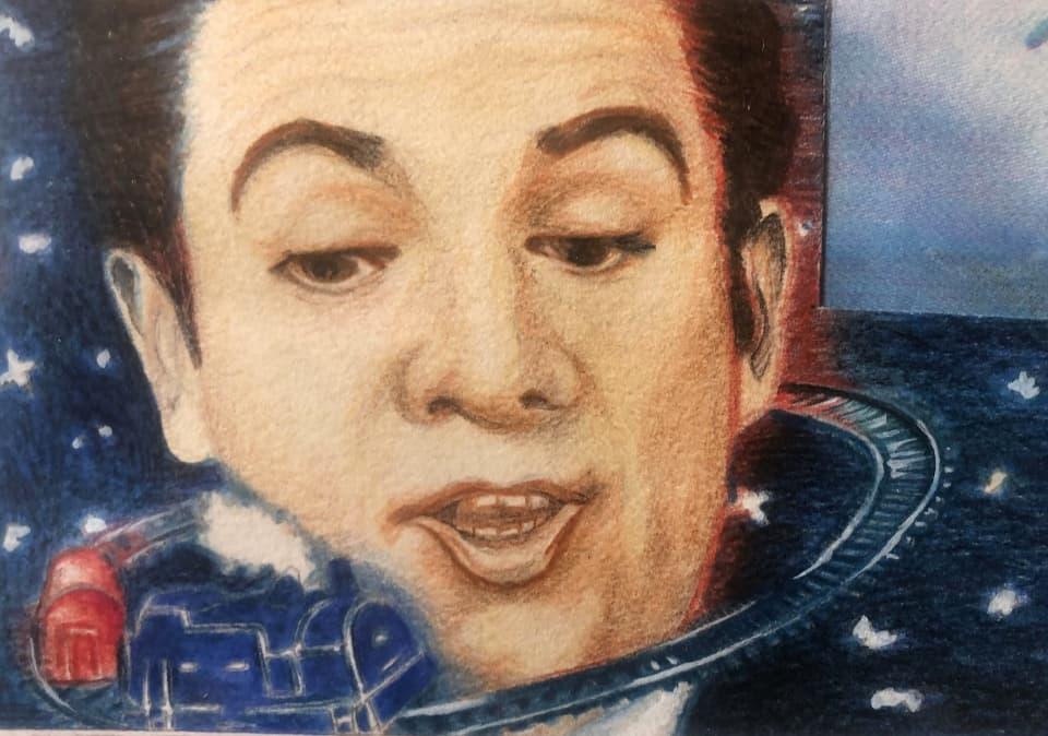 Peter Gabriel (as a young man)