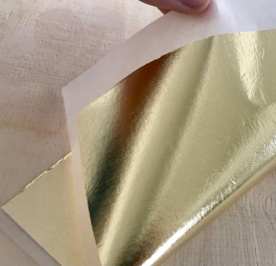 imitation gold leaf