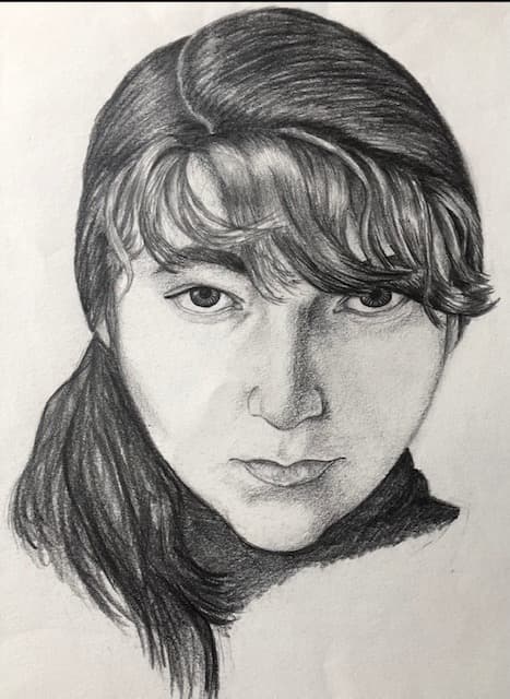 Jane's self-portrait