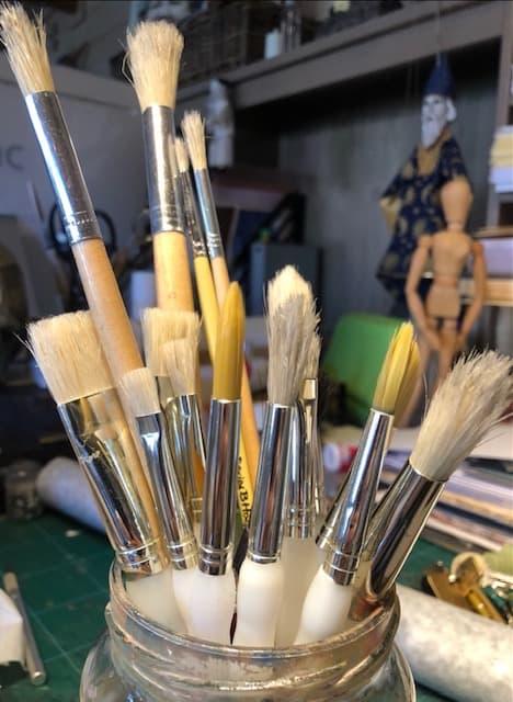 Jane's brushes