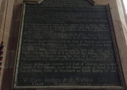 joseph bosworth plaque for restoration