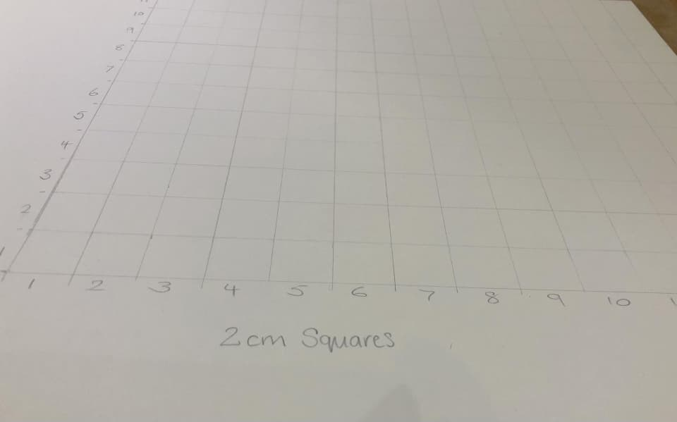 larger grid drawn on
