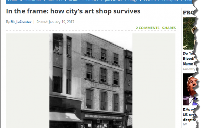 In the frame: how city's art shop survives