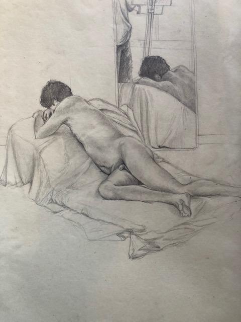mirror image sketch