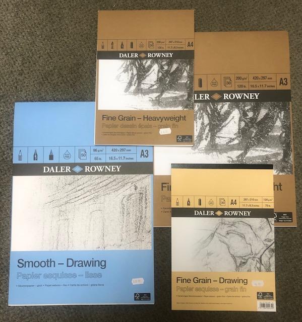 more Daler Rowney pads