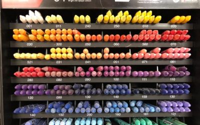 Neocolor wax crayons