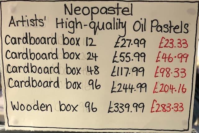 Gadsby's neopastels set prices