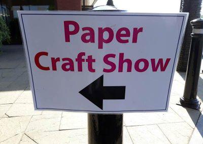 paper crafting fair