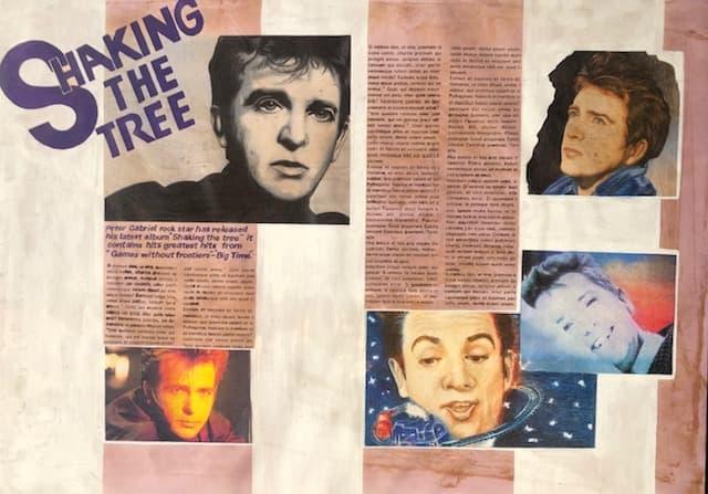 Peter Gabriel article layout