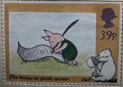 Piglet Stamp - finished painting