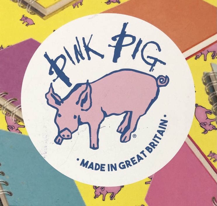 Pink Pig Sketch Books