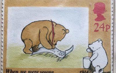 Designing postage stamps