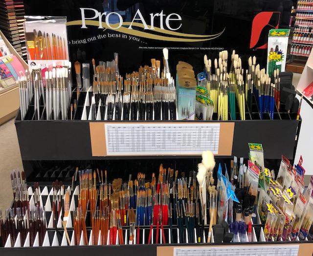 pro arte brushes