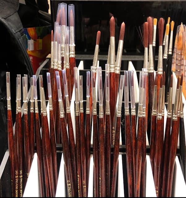 pro arte series 202 synthetic bristles