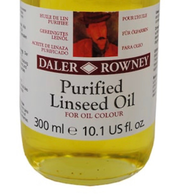 Purified Linseed Oil for thinning oil paints