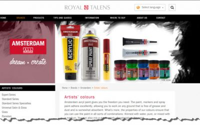 Royal Talens – Liquid Acrylic Inks