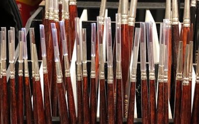 Brushes for oil paints