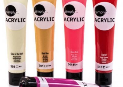 simply acrylic paints