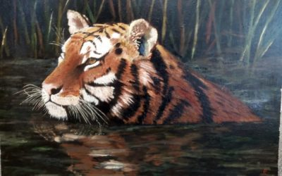Saving the Tiger (painting)