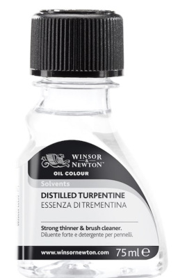 Turpentine for thinning oil paints