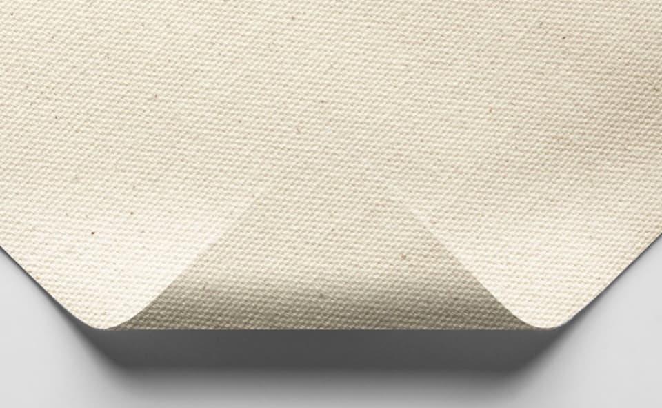 unprimed medium cotton canvas